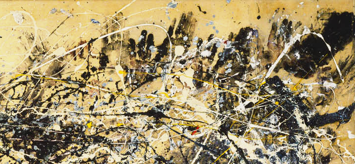 Jackson Pollock Hand Detail - Number 1a 1948